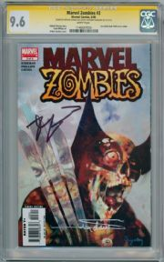 Marvel Zombies #3 CGC 9.6 Signature Series Signed Robert Kirkman Arthur Suydam Hulk #340